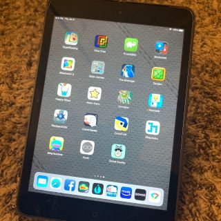 iPad Mini 2 Cellular and WiFi 32 GB with case