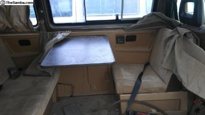 Vanagon Westfalia Weekender Camper Interior