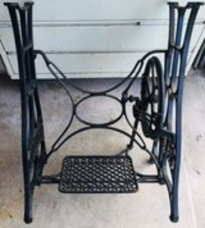 Vintage New Home sewing machine stand