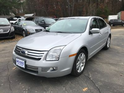2009 Ford Fusion SEL (Brilliant Silver Metallic)