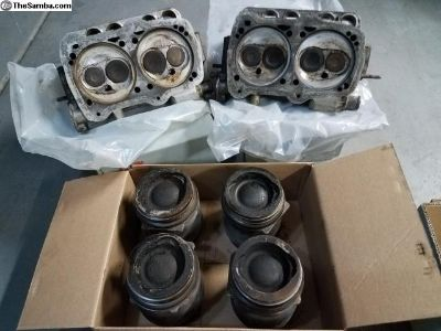 2.1l WBX Cylinder heads and cylinders/pistons