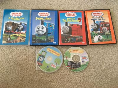 Lot of Thomas DVDs