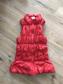 Puffer vest with bling size 10/12