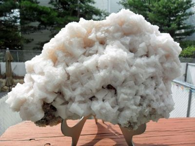 Exceptional and Beautiful Huge Pink Halite with Excellent Quality Crystals