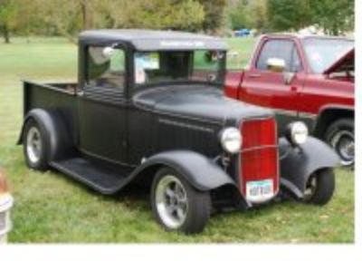 1934 Ford Pickup - Not for the Big and Tall person