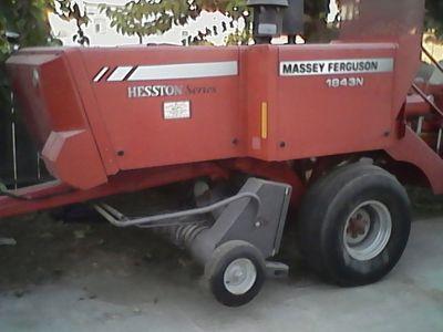 2010 Massey Ferguson inline hay baler