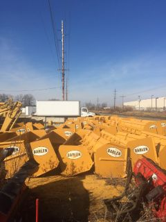 Snow plows for sale $350 each (Western plows) REVERSE PLOWS and forward plows for loader also 4 sale