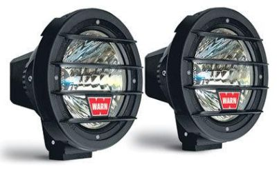 "Sell WARN 82405 Remote Control 7"" HID Driving Light System Kit Covers Off Road motorcycle in Galion, Ohio, US, for US $433.84"