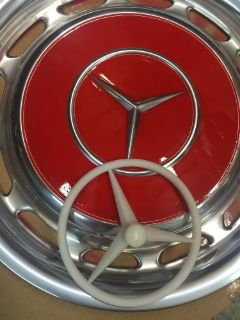 Find wheel hub cap wheel stencil 14 inch for Mercedes W 107 108 109 111 113 114 115 motorcycle in Santa Clarita, California, United States, for US $49.99