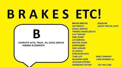 Diesel Truck Repair (5506 Common St.)