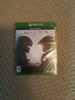 Xbox one Halo 5 UNOPENED