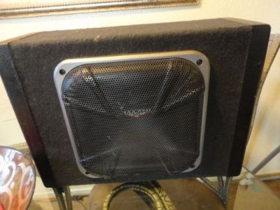 Purchase 08-10 Dodge Caliber Kicker Subwoofer Enclosure 05035045AA - Speaker,Chrysler,Amp motorcycle in Sacramento, California, United States, for US $245.00