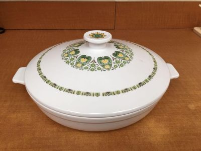 Vintage Noritake China Palos Verde covered casserole