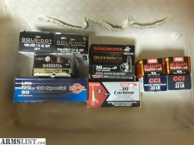 For Sale: Moving Out Of State Sale - Ammo