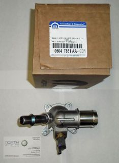 Sell NEW OEM MOPAR 2012-16 2.0L 2.4L DART RENEGADE CHEROKEE 200 THERMOSTAT & HOUSING motorcycle in North Olmsted, Ohio, United States, for US $43.95