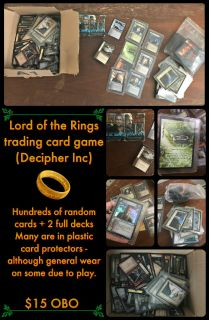 LOTR trading card game