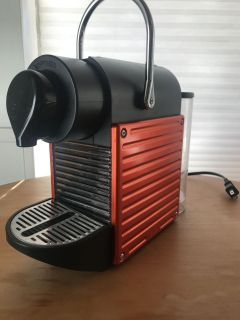 Nespresso Coffee Maker with coffee pods included