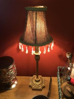 Small Antique Lamp