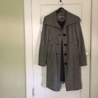 Guess gray wool blend winter coat