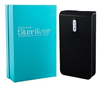 UV Cell Phone Sterilizer with USB Charger, New in Box