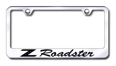 Sell Nissan Z Roadster Engraved Chrome License Plate Frame Made in USA Genuine motorcycle in San Tan Valley, Arizona, US, for US $30.98
