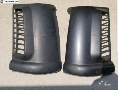 Bay window air vents