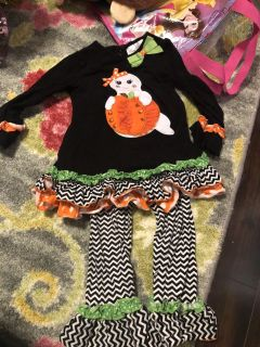 Rare Editions 3T Halloween Outfit