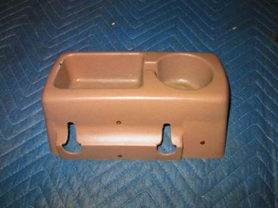 Find 1992 1993 1994 1995 1996 1997 F150 F250 F350 BENCH SEAT CUP HOLDER OEM TAN motorcycle in Saint Clair Shores, Michigan, United States