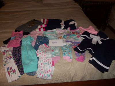 Baby Girl Clothes 18 mo