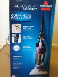 $60 NIB LIMITED EDITION COLOR BISSELL AEROSWIFT COMPACT VACUUM