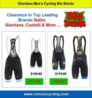 Buy Leading Branded Men's Cycling Clothes | Giordana Pro Bib Short