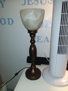 Open globe lamp excellent condition