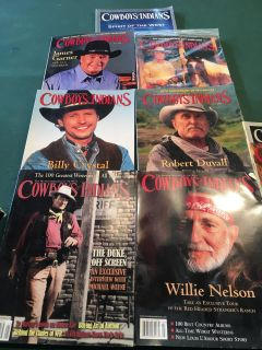 Cowboys and Indians Magazines