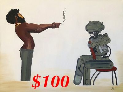 This is America Star Wars Painting