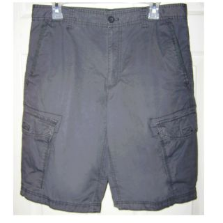 Size 32 - Men's Gray Cargo Shorts