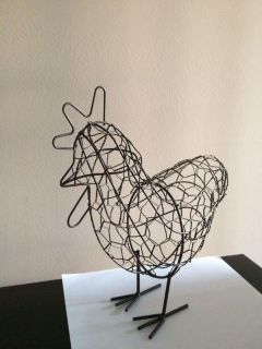 Wire rooster Deco