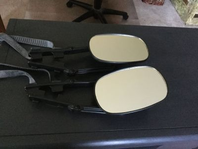 Portable towing mirrors