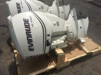 "Buy 2012 Evinrude Etec 200 hp DFI Outboard Boat Motor 25"" E-Tec 225 150 175 250 BRP motorcycle in Ipswich, Massachusetts, United States, for US $8,500.00"