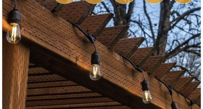 Outdoor sting lights 2 boxes