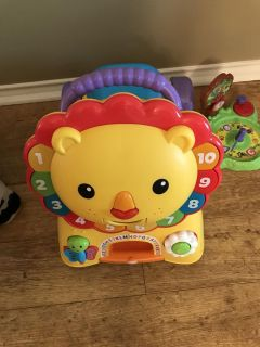 Lion ride on toy