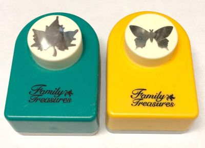 Family Treasures Leaf and Butterfly Punch