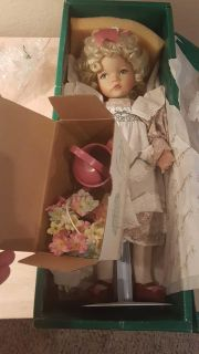 Collectible doll from the artist Dianna Effner