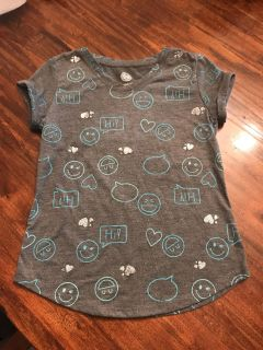 SO Authentic American Heritage girls shirt. Size relaxed 7/8.