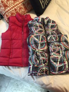 Girl s winter vests 8 for both