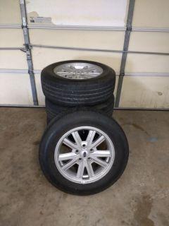 Mustang wheels & Goodyear tires