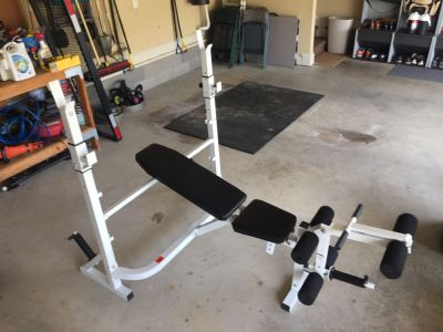 Weight bench **new never used**
