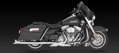 "Buy Vance & Hines 3"" Fishtail Slip-On Exhaust 95-12 Harley Davidson Touring motorcycle in Ashton, Illinois, US, for US $473.36"