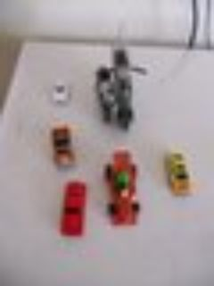 5- cars and 2-motorcycles (collectable items