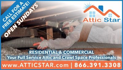 Attic & Crawl Space Cleanup -- Insulation Replacement