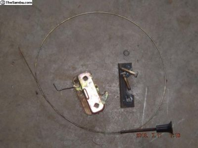 Porsche 914 Engine Lid Latch & Cable